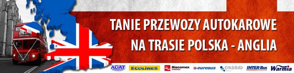 Autobusy Polska Anglia. Tanie Bilety do Anglii